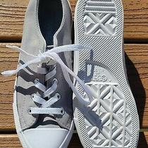 Euc Gray Converse All Star Sneakers Sz 6.5 Photo