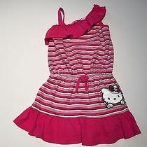 Euc Hello Kitty by Sanrio Girls Summer Dress Size 5 Photo