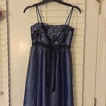 Euc Jessica Mcclintock Semi-Formal Short Prom Cocktail Dress Photo