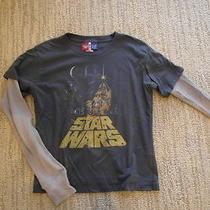 Euc Junk Food Gap Kids Star Wars 2 in 1 Long Sleeves Top Sz M (8)  Lk Photo