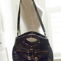 Euc Kate Spade Black Patent Leather Clutch / Shoulder Bag Photo
