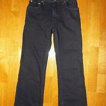 Euc Kids Boys Black Gap Jeans Boot Fit Sz 12 12 Slim Photo