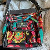 Euc Lily Bloom Floral Print Crossbody Bag Shoulder Travel Eco Purse Photo