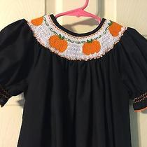 Euc Lolly Wolly Doodle Smock Pumpkin Dress Photo