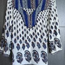 Euc Lucky Brand 100% Cotton Top Size S 851 Photo