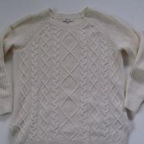 Euc Madewell Cable-Front Sweater - Size S Photo