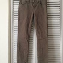 Euc Madewell Tuscan Olive Green Skinny Skinny Ankle Jeans (Size 26 28