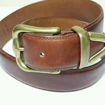 Euc Medium Fossil Genuine Leather Brown Belt Size M  Bt1150 1.5