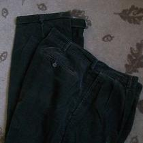 Euc Mens Natural Issue Corduroy Pants Dark Brown 38x32 Dress Casual Nice Cotton Photo