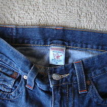 Euc Mens True Religion Billy Jeans  Seat 34 100% Cotton Usa Made Size 34x31 Photo