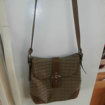 Euc Modern Coach Messenger Purse Handbag Authentic Brown  Photo