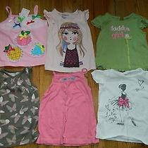 Euc Nwt Lot of 6 Shirts Girls 2t Gymboree Gap Old Navy Others Dance Daddy Girl Photo