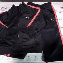 Euc Preowned  Puma Pants and Jacket Size 12 Month Photo