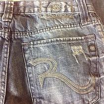 Euc Rock & Republic Men's Jeans - Bolt Size 32x34 Pants Distressed Photo