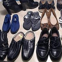 Euc Size 9 Lot of 11 Flats Hills Shoes Coach F Sarto S Weitzman Juicy Couture & Photo