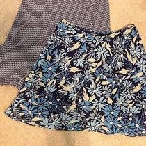 Euc  Skirts Junior Size (S) Geometric Print & Floral Print Photo