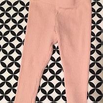 Euc Tea Collection Baby Girls Blush Pink Sweater Leggings Size 12-18m Photo
