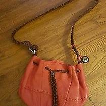 Euc the Sak Orange Leather Shoulder/crossbody Small Size Bag Orange Photo