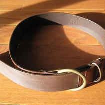Euc Theory Leather Belt P Photo