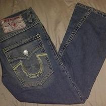 Euc True Religion Joey Men's Jeans Row 34 Seat 33  Photo