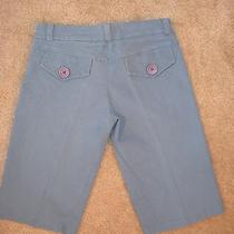Euc Urban Outfitters Lux Long Shorts Sky Blue Cotton/spandex Sz 1 Photo