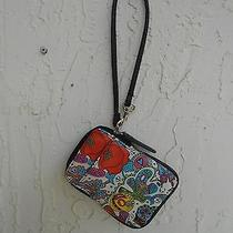Euc Vera Wang () Colorful Wristlet Iphone Credit Cards License Purse Handbag Photo