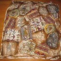 Euc Vintage the Limited Indian Chief Southwestern Large Scarf Made in Italy Photo