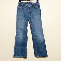 Euc Women Gap Stretch Medium Wash Bootcut Jeans Size 6r Inseam 29 Photo