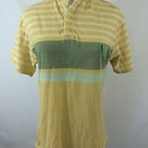 Euc Women's Yves Saint Laurent Sz 4 Striped Polo Golf Shirt Short Sleeve  Photo