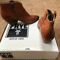 Euc Womens Size 9 Reina Frye Booties Carmel Color  Photo