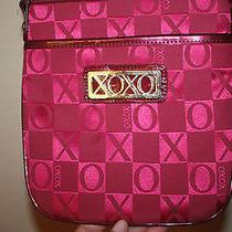 Euc Xoxo Maroon/violet Shoulder Bag  Photo