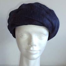 Eugenia Kim 100% Cashmere Blue Cloche Twist Hat - S / M Photo
