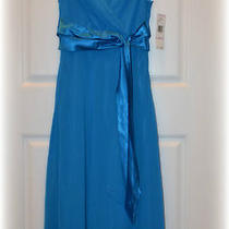 Evan Picone Dress Teal Laguna Blue Sz 6 New With Tags 99.00 Beautiful Photo