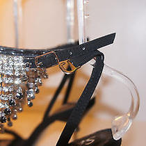 Evening Party Wedding Crystal Shine Shoes Photo