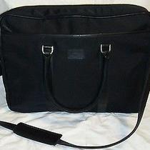 Exc Coach Briefcase Messenger Bag Laptop Bag 5102 Black Crossbody Photo