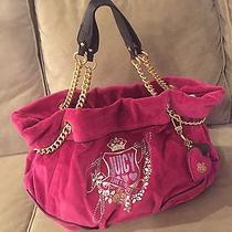 Excellent 9/10 Juicy Couture Forever Duchess Chain Hobo Passion Pink Large Photo