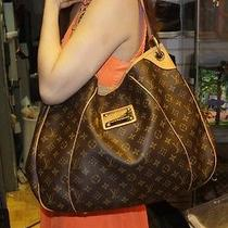 Excellent Authentic Louis Vuitton Galliera Gm Monogram Galleria Hobo Photo