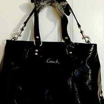 Excellent Coach Mahogany  Glossy Patent Leather No 20464  Photo
