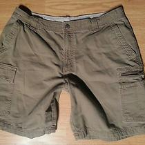 Excellent Columbia Fishing Camping Outdoor Cargo Shorts Sz 36 Photo