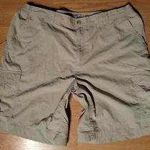 Excellent Columbia Fishing Camping Outdoor Cargo Shorts Sz M Photo