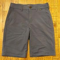 Excellent Condition Boys Hurley Nike Dri Fit Dark Blue Shorts Size 14 Photo