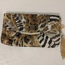 Excellent Condition Guess by Marciano Animal Print Clutch Handbag Crossbody Op Photo