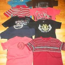 Excellent Condition Lot of 9 Boys Brand Name T-Shirts Size 14/16 Photo