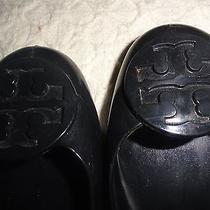 Excellent Condition--Tory Burch Black Flats - Size 8 M-- Shoes Photo