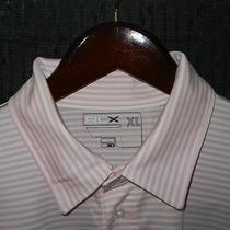 Excellent Men's Rlx Ralph Lauren French Creek Golf Club S/s Polo Shirt Pink Xl Photo