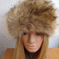 Excellent Natural Raccoon Fur Hat Women Women Children Size 21