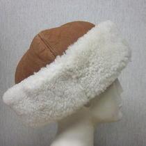 Excellent Shearling Sheepskin Lamb Fur Hat for Men   X- Large