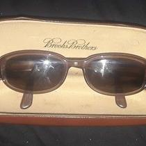 Exlnt Unisex Brooks Brothers Sunglasses Bb577s 5117 140 With Case  Photo