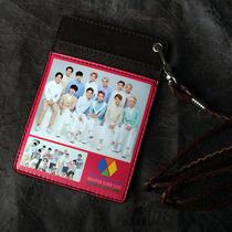 Exo Xoxo Exo-K Exo-M Photo Necklace Card Case Necklace Card Wallet  Photo