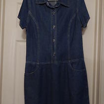 Exp Jeans by Express Blue Denim Dress (9/10) Photo